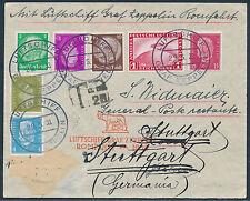 Zeppelin Italienfahrt 1933 Bordpost Taxstempel Rundfahrt (S12061)