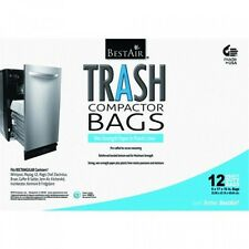BestAir Trash Compactor Bags(16'' D. x 9'' W. x 17'' H,pack of 12), New