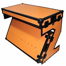 ProX XS-ZTABLEOB Portable Z-Style DJ Table Flight Case w/Handles+Wheels