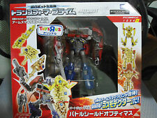 Transformers Prime RID AM Voyager Battle Shield Optimus Prime Takara MISB