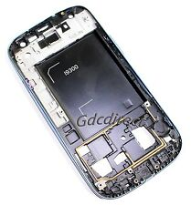 OEM Housing Frame Front Bezel Cover Chassis Samsung Galaxy S3 S III i9300 Blue