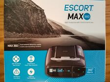 Escort MAX360 Radar Laser Camera Detector Bluetooth GPS Police iPhone Android