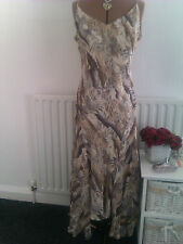 Per Una gorgeous size 16 R multi fully lined chiffon dress