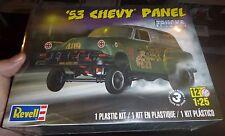 REVELL 1953 Chevy PANEL Van Truck Model Car Mountain KIT fs 1/25