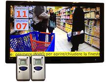 Eliminacode Gestione code sistema multimediale MINI TURNIX-2 Servizi
