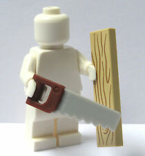 Lego Saw & Wood Joiner Carpenter Builder Series Minifigure Not Included