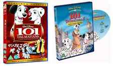 101 / 102 DALMATIONS DVD 2 MOVIE FILMS WALT DISNEY ANIMATED CARTOON Brand New UK