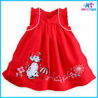 Disney 101 Dalmatians Woven Organic Cotton Dress Set for Baby 9 - 18 Month sizes