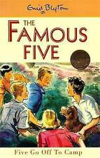 NEW   HARDBACK  (7)  FIVE GO OFF TO CAMP ( FAMOUS FIVE book ) Enid Blyton)
