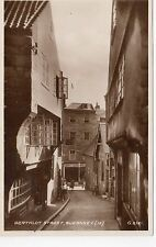 BERTHLOT STREET, GUERNSEY: Channel Islands postcard (C7367)
