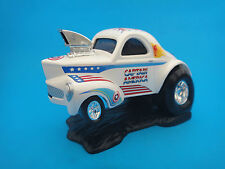 1998 Polar Lights Playing Mantis Captain America Hot Rod Vehicle Rare! Used
