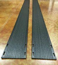 Slide Guides Inc. E-Z Off Snowmobile Trailer Ski Guides - 12 Foot Length - Pair