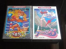 Nintendo NES Famicom / FAMILY BOXING /FAMILY TENNIS