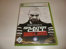 XBOX 360 TOM CLANCY 'S SPLINTER CELL-DOUBLE AGENT