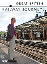 Great British Railway Journeys Series 2 DVD BRAND NEW SEALED Season 2 series two