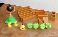 Angry Birds Figure Collection Lot Set Cake Topper Toy Game Replacement Parts