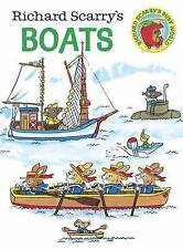 Richard Scarry's Boats Scarry  Richard 9780385392693