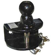 Boules d'attelage  - Chape mixte ( Axe et Boule )1500KG - 2 trou 50mm boule