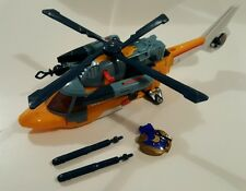 2005 Transformers Cybertron Voyager Evac 100% Complete Key Accessories