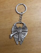Star Wars Millennium Falcon Metal Bottle Opener & Keychain - NEW Pinball Keys!