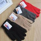 Women/Lady Plain Knitted Gloves Winter Warm Thermal Full Finger Hot Thermal New