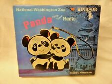 Vtg Panda Bear AM Radio Plastic Windsor National Washington Zoo Anthropomorphic