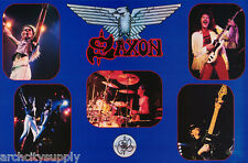 POSTER :MUSIC : SAXON - MONTAGE   - FREE SHIPPING !             #15-211   LW5 O