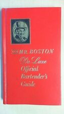 OLD MR. BOSTON DELUXE OFFICIAL BARTENDER'S GUIDE -   1965 BK3