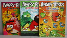 Angry Birds Coloring & Activity Books Sky High and Into the Jungle Paint w Water