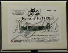 Alley Cat 1/32 HENSCHEL Hs-123A German Legion Condor Dive Bomber