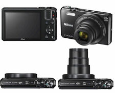 Cámara Digital Nikon Coolpix S7000 16.0MP - Negra TOTALMENTE NUEVA
