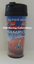 New England Patriots Hunter Mfg Super Bowl XLIX Champs 16oz Insulated Travel Mug