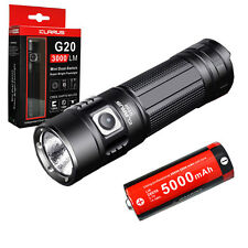 Klarus G20 CREE XHP70 N4 LED Rechargeable Flashlight 3000 Lumen w/ 26650 Battery