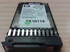 """HP ProLiant 72GB HDD SFF 2.5"""" SAS 15K HotPlug 512545-B21 512743-001 Garantie"""