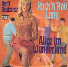 """7"""" - Drafi Deutscher - Rock'n Roll Lady / Alice im Wunderland - DECCA 19934"""
