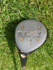 VINTAGE swilken 2 Wood Golf Club