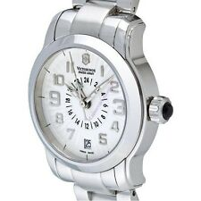 Victorinox Swiss Army Vivante Dual time ladies watch Stainless Steel 241259