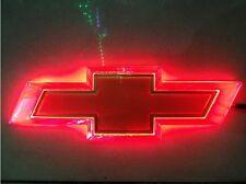 4D Car LED Real Logo Light Auto Badge Lamp Emblems For CHEVROLET AVEO LOVR