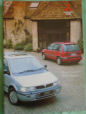 Mitsubishi Space Wagon & Space Runner range brochure Feb 1995