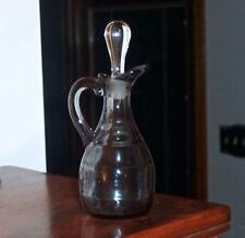 HEISEY RARE #1485 SATURN DAWN CRUET WITH ORIGINAL CLEAR STOPPER