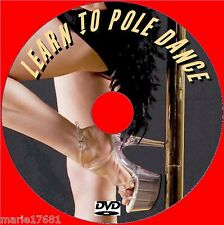 BEGINNERS POLE DANCING LESSONS FOR FITNESS STAMINA NEW STEP BY STEP VIDEO DVD