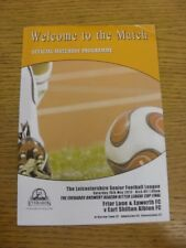 16/05/2015 Leicestershire League Cup Final: Friar Lane And Epworth v Earl Shilto