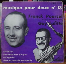 FRANCK POURCEL ET SON ORCHESTRE GUY LAFITTE SWEETHEART FRENCH EP