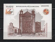 SPAIN 1992 SOUVENIR ST PAUL CHURCH VALLADOLID EXFILNA PHILATELIC EXHIBI SC# 2690