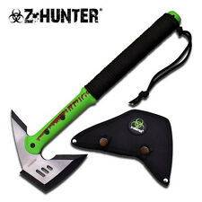 Zombie Hunter 16 Inch Length Green Axe Hatchet with Satin Blade ZB-AXE1-GG2