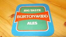 Big Taste Burtonwood Ales Mat vintage