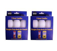 UCO 9 Hour Candles- 6 pack! -Emergency Preparedness Checklist