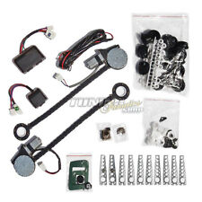 Electric universal EFH window regulator RETROFIT KIT COMPLETE 2x Engines Switch