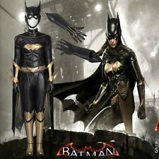 Original Batman Arkham Knight Batgirl Cosplay Costume Outfit Hallowmas Any Size