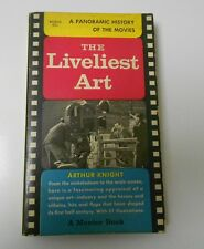 1957 Panoramic History of MOVIES The LIVELIEST ART Mentor PHOTOS 6thVG Paperback